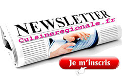 newsletter cuisineregionale